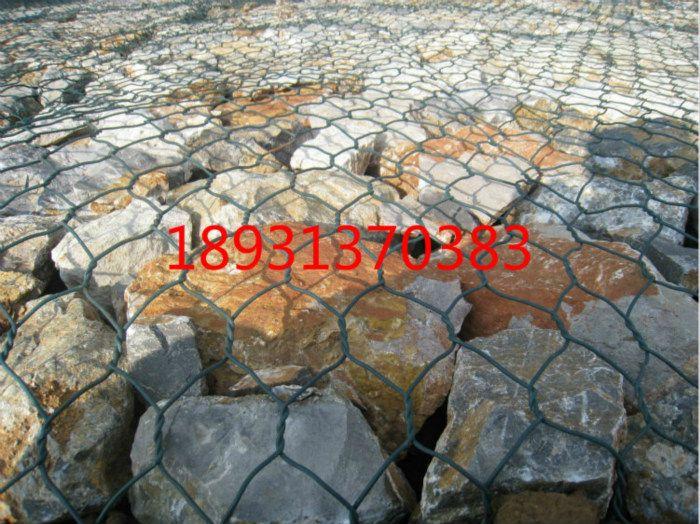 延安石笼网245g上锌/河渠施工铅丝网笼厂家-在线生产格宾石笼网