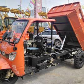 厂家低价出售时风建筑自卸柴油三轮车 运渣专用三轮车