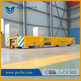满足频繁使用的要求时间不受限制低压轨道的500t电动平车