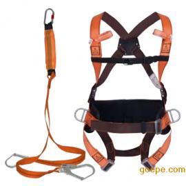 代尔塔506102高空防坠安全带套装 定位腰带 减震绳 舒适型安全带
