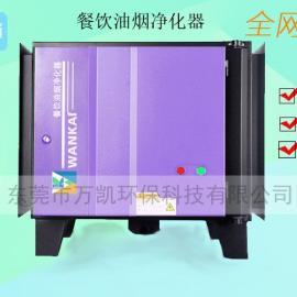 厨房油烟净化器 4000风量低空排放油雾处理器 广东商用