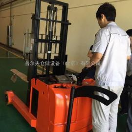 前移式电动叉车 电动堆高车 堆垛车 平衡配重式全电动堆高车