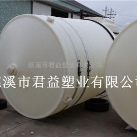 滚塑锥底水箱君益10吨尖底PE水箱