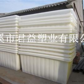 批发PE方桶周转箱,方形推布箱1730*1020*760mm
