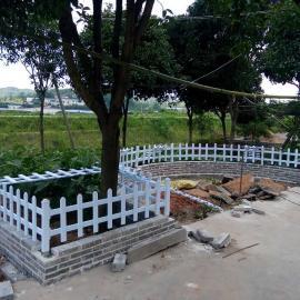 武汉公园护栏,武汉景区护栏,武汉pvc花坛护栏的优点