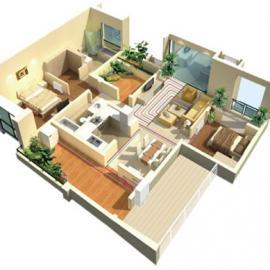 住宅/别墅/地暖+空调一体式解决方案
