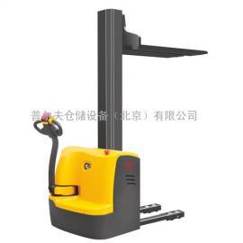 北京品牌电动堆高车 单立柱堆垛机 全电动堆高叉车CDDRD