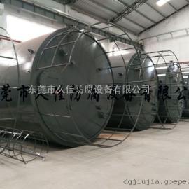 久塑牌65立方钢衬塑储罐 试剂浓硫酸储罐厂家 储存更安全