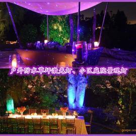 户外防水草坪景观灯,小区庭院激光景观灯