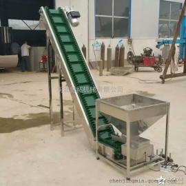 河北裙边爬坡机厂家供应天津挡板皮带机爬坡皮带输送机质优价廉