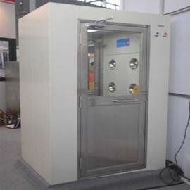 重庆304不锈钢风淋室单人双吹风淋门光电感应电子连锁风淋房