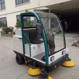 拓威克驾驶式全自动扫地机 公园广场小区用驾驶式清扫车