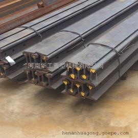 QU80材质U71Mn钢板天车钢轨,一根12米常用轨,无接头孔