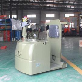 工厂直销 3吨24V电动牵引车 站驾式电动牵引车 北京现货