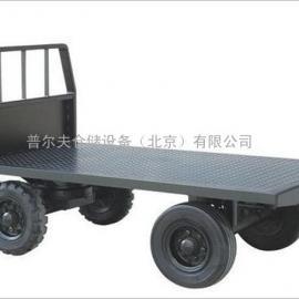 厂家直销 宁波西林四轮挂车DT30/60 叉车配件塑料托盘