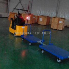 厂家直销 牵引小挂车 牵引小拖车 仓储货物搬运车 牵引拖车