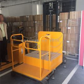 全电动高空取料机 300kg自行走式高空取料车 高空拣选车