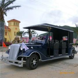 直供6座电动豪华老爷车厂家,仿古景区代步观光车,四轮看房游览