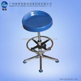 防静电不锈钢圆凳 螺旋升降圆凳 医院实验室用 工作凳子