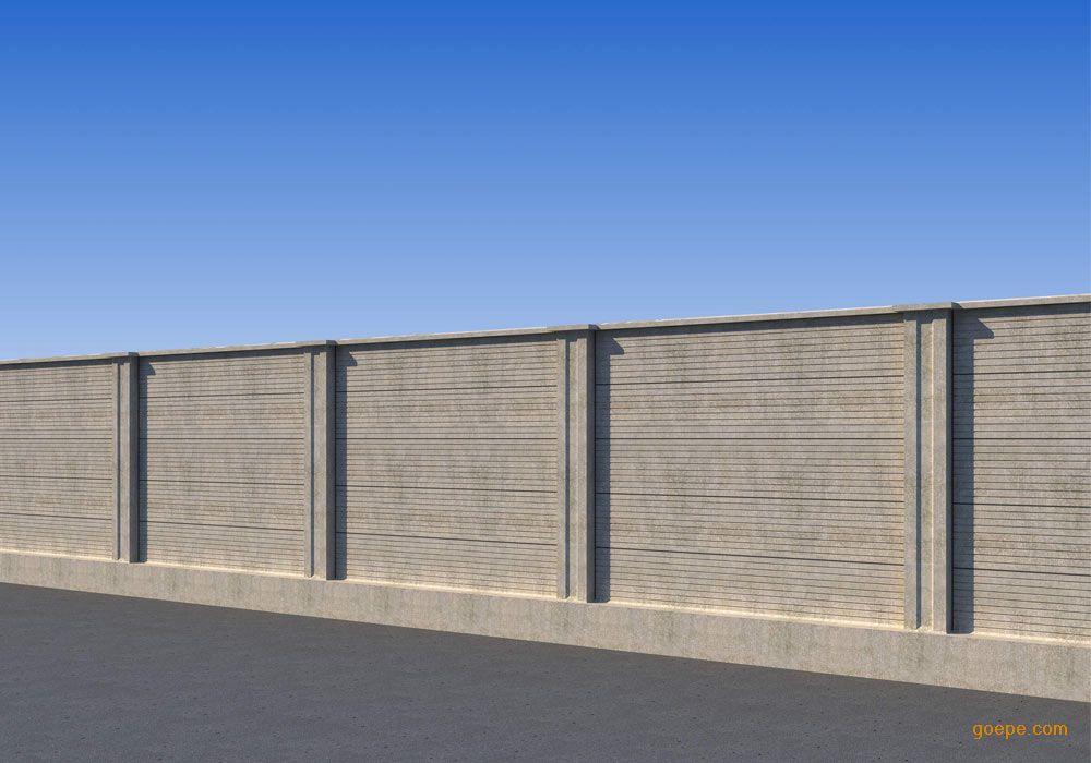 青岛德山机械有限公司 产品展示 水泥制品生产设备 > 装配式围墙生产图片