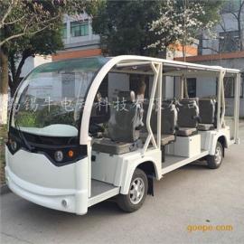 热销14座电动观光车,酒店接送旅游车,楼盘接待看房车厂家