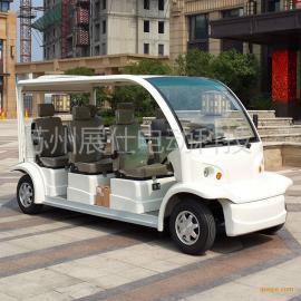 湖北武汉6座电动观光车 校园接送车 乡村旅游四轮电动车