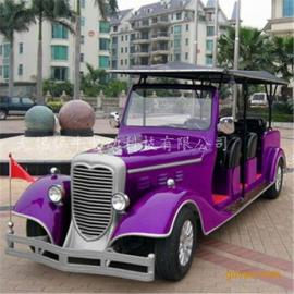 新款四轮看房老爷车,贵宾接待电动车,古典公园代步观光车