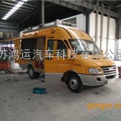 依维柯工程车NJ5045XGCFD箱式燃气抢险车