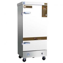 美厨蒸饭车MCKZ-H8 商用电蒸箱 电汽两用蒸饭柜