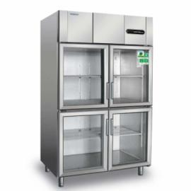 冰立方四门冷藏展示柜S1.0G4 四玻璃门陈列柜 商用