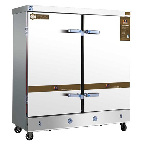 美厨蒸饭车MCKZ-H24 商用24盘蒸饭柜/电蒸箱