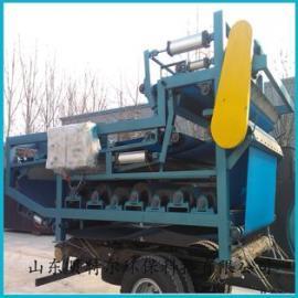 带式污泥浓缩脱水机 带式污泥压滤机 带式压滤机