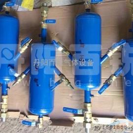 车间用两接头压缩空气集气包配气包生产厂家