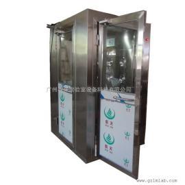 供应不锈钢单人双吹转角风淋室专业定制非标风淋室厂家直销