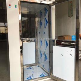 热销单人单吹风淋室无尘车间工程专用不锈钢风淋室洁净室风淋机