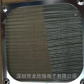 90铝网罩9CM90*90MM电脑机箱防尘网罩厂家供应