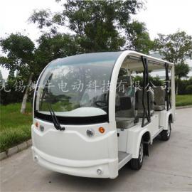 供应8座电动旅游观光车,四轮看房车图片,工厂游览参观车价格