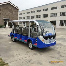 直供苏州14座电动观光车,楼盘接待看房车厂家,生态园旅游代步车