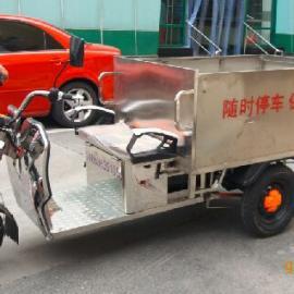 电动不锈钢垃圾车,物业垃圾车