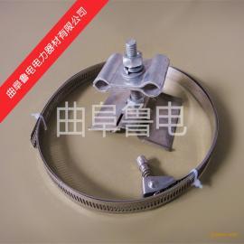 供应opgw塔用引下线夹杆用引下线夹导引线夹光缆金具厂
