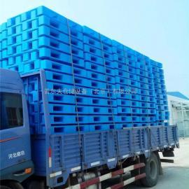 塑料托盘 川字网格托盘 货架托盘 叉车卡板 1200全新料