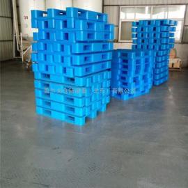 供应1210网格川字塑料托盘 可加钢管 塑料卡板北京全新料