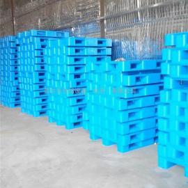 全新塑料栈板 塑胶卡板叉车专用防滑1210网格川字塑料托盘
