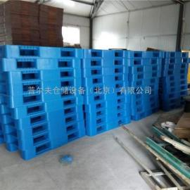 厂家批发塑料托盘1210网格川字托盘 仓库塑料卡板仓库栈板