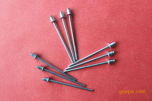 一致的夹紧力 o 严格的径向集提供结构刚度增加 我们供应抽空圆头拉钉