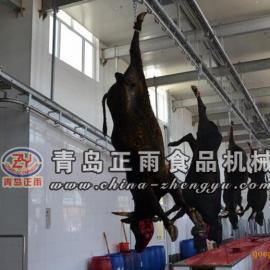 青岛正雨供应牛屠宰设备宰杀流水线放血自动线
