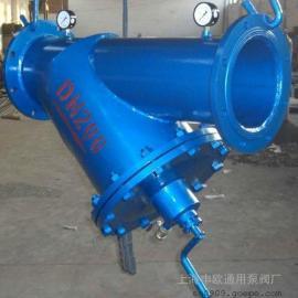 SLVY-16C-DN150铸钢手摇刷式过滤器