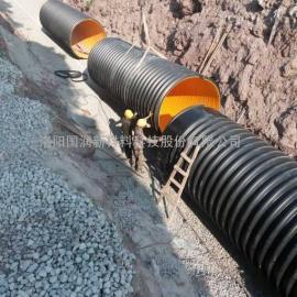 500排污波纹管,钢带增强螺旋波纹管使用要求