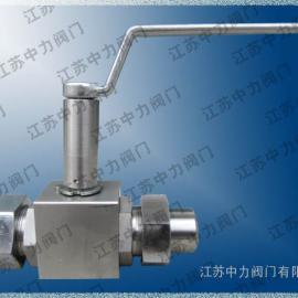 不锈钢焊接式低温高压球阀