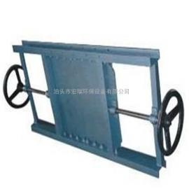 手动双向插板阀厂家 双向手动刀型闸阀型号规格